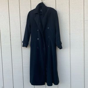 NICE Gallery (Nordstrom) Black Trench Coat